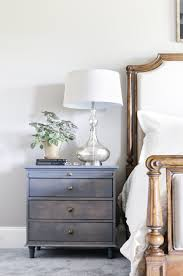Diy Nightstand Nightstand W Charging Station Pullout Writing Tray Diy