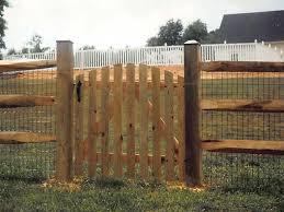 split rail wood fence gate. Install A Split Rail Fence Wood Gate