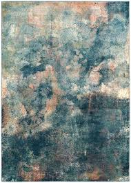 watercolor area rug 2018 modern rugs teal rugs