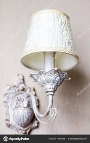 Vintage Kronleuchter Eine Antike Lampe Den Innenraum Alte