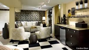 Interior Decoration Of Small Living Room Living Room Design Ideas Basement Makeovers From Candice Olson