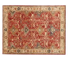pottery barn channing persian style rug pottery barn rugs 2017