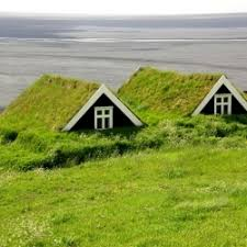 23 Houses Around the World Built into Nature from matador. Icelanders have  been digging Turf