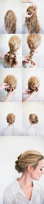 French Twist Hair Style 20 gorgeous 5minute hairstyles to save you some snooze time diy 1928 by stevesalt.us
