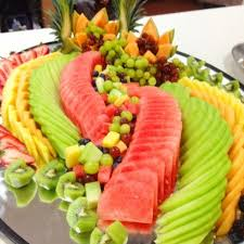How To Decorate Salad Tray Cottage Cheese Fruit Salad Extraordinary Fruit Platter Ideasjpg 97