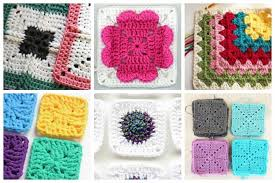 Easy Crochet Squares Free Patterns