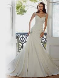 white fit and flare wedding dress fit and flare wedding dress