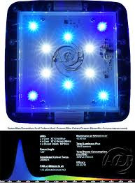 led aquarium light reef planted lighting aquaray grobeam aquabeam ocean blue 1500 np aquarium led
