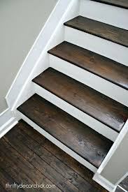wood stairs ideas wood and white stair makeover painted wood stairs white stairs wood steps staircase outdoor wooden steps ideas