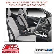 msa seat covers for mitsubishi triton
