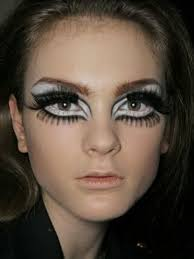 60s eye crazy makeup