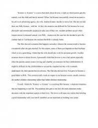 reaction paper for kramer vs kramer essay similar essays