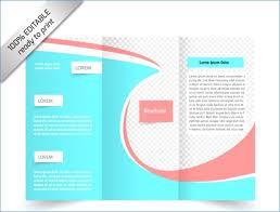 Brochure 40 Fold Template Bekonang Custom Free Tri Fold Brochure Templates Word