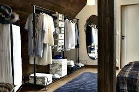 Stand Alone Coat Rack Extraordinary Stand Alone Clothes Rack Create A Closet Anywhere You Have Extra