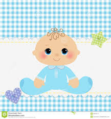 baby postcard cute template for baby postcard stock vector illustration of