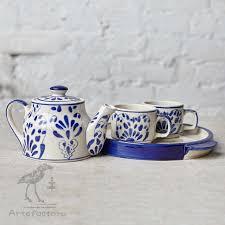 <b>Чайный набор</b> Indigo Naive - Керамические чайники, <b>чайные</b> ...