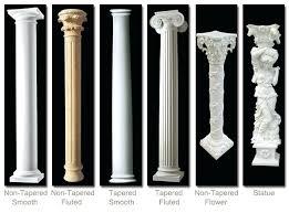 pillars for home decor decorative pillars home depot