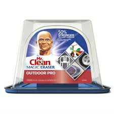 mr clean outdoor pro magic erasers multi purpose cleaning pad 7 pack