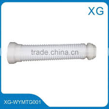 pvc flexible wc pan waste sewer pipe flexible shifting toilet connection pipe