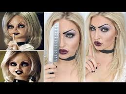 tutorial bride of chucky doll tiffany