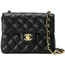 Pre-owned Chanel Vintage small quilted crossbody bag - Polyvore & Pre-owned Chanel Vintage small quilted crossbody bag Adamdwight.com