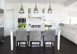 Lighting Design Ideas:Kitchen Pendant Lights Benson Bring An Antique Touch  To This Modern White