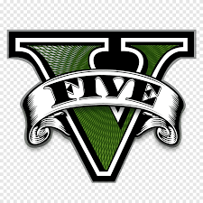 GTA V ICON, Grand Theft Auto 5 logo, png