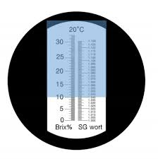 Brix Refractometer Temperature Correction Chart How To Use A Refractometer For Beer Newtobrew