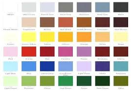 28 Thorough Kirker Paint Chart