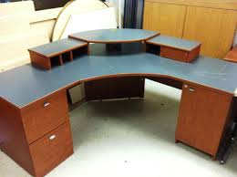corner office table. Corner Office Desks Great Desk With Shelves And Table Y