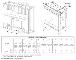 framing a gas fireplace fireplace framing gas fireplace installation