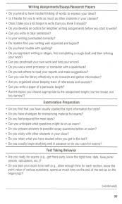 best special education images career carrera  study skills questionnaire p2