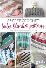 25 baby blanket crochet patterns