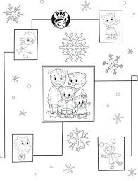 Dinosaur Train Wrapping Paper Pbs Coloring Pages Daniel Tiger Kids