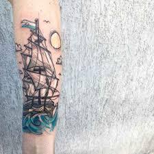 Color Sketch Tattoos By Luca Testadiferro