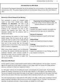 Apa Format Citation Example Journal How To Make Apa Journal