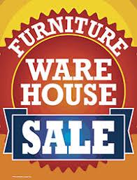 furniture sale sign. Plastic Window Sign: Furniture Warehouse Sale Sign I