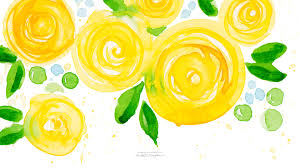 <b>Watercolor Floral</b> Wallpaper - <b>Watercolor Floral</b> Desktop Background
