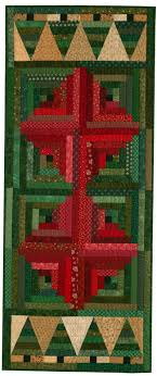 Free Christmas Table Runner Pattern: Christmas in the Cabin ... & Jen Daly designed and made this easy-to-make, quick-to-quilt table runner  to spruce up your Christmas table. Download this free quilt pattern to make  your ... Adamdwight.com