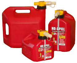 gas can transparent. 3 sizes of no spill gas cans can transparent