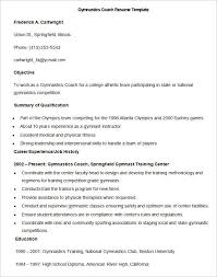 Coaching Resume Samples Extraordinary Pin By Joko On Resume Template Pinterest Gymnastics Coaching