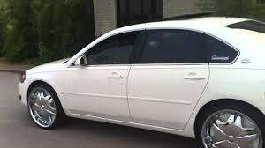 white 06 impala on 22s - YouTube