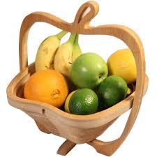 bamboo fruit basket image