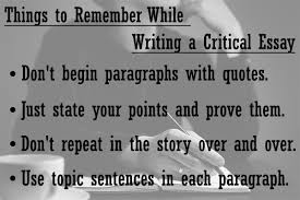 Definition Of A Critical Lens Essay