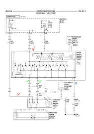 Wiring diagram 6 pin power window switch the