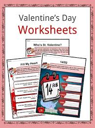 Valentines Day Facts, Worksheets, Origin & History Through Time ...