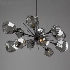 brass and crystal chandelier elegant starburst oval chandelier by hammerton studio