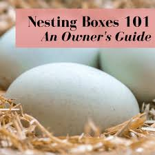 en nesting boxes owner s guide