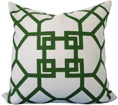 Designer Decorative Pillows For Couch Green And Ivory Designer Decorative Pillow Cover 64