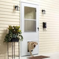 full size of door design peachy emco x k series vinyl pet storm doorwith black home